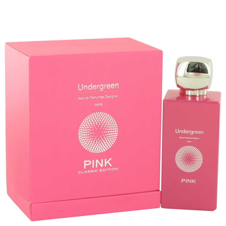 Pink Undergreen by Versens for Women Eau De Parfum Spray (Unisex) 3.35 oz