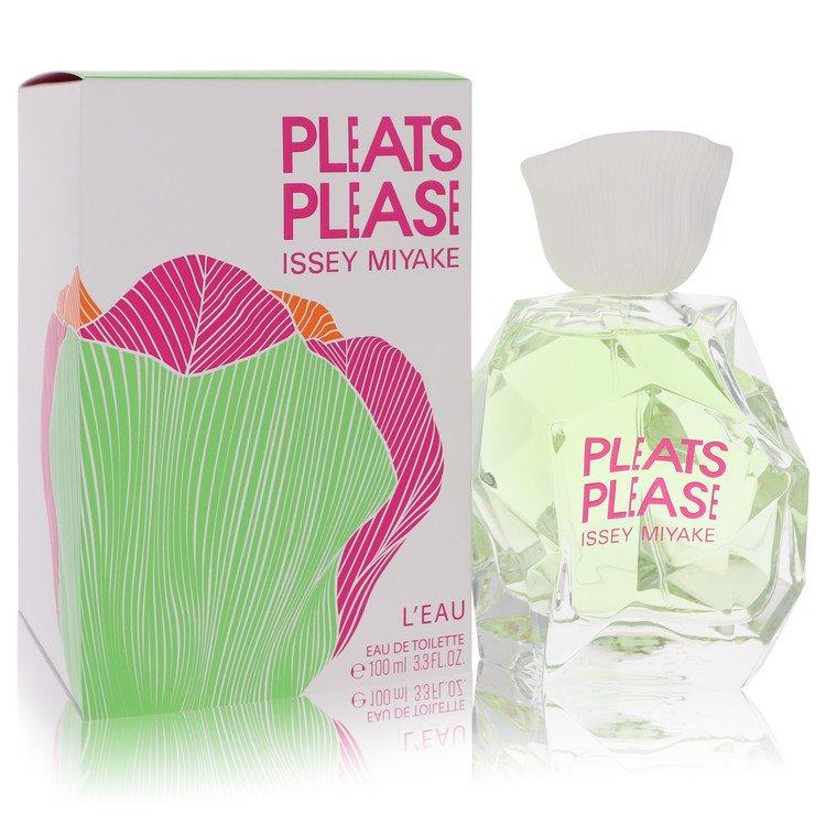 Pleats Please L'eau by Issey Miyake for Women Eau De Toilette Spray 3.3 oz