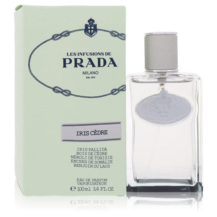 Prada Infusion D'Iris Cedre by Prada for Women Eau De Parfum Spray (Unisex) 3.4 oz