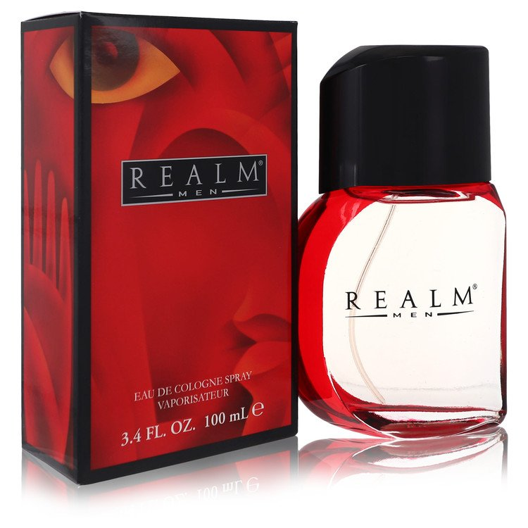 REALM by Erox for Men Eau De Toilette Spray 3.4 oz