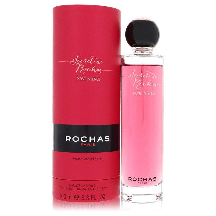 Secret De Rochas Rose Intense by Rochas for Women Eau De Parfum Spray 3.3 oz