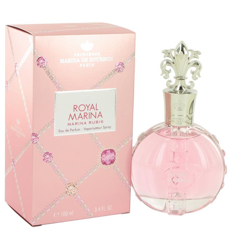 Royal Marina Rubis by Marina De Bourbon for Women Eau De Parfum Spray 3.4 oz