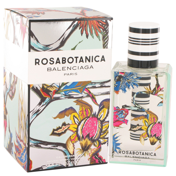 Rosabotanica by Balenciaga for Women Eau De Parfum Spray 3.4 oz