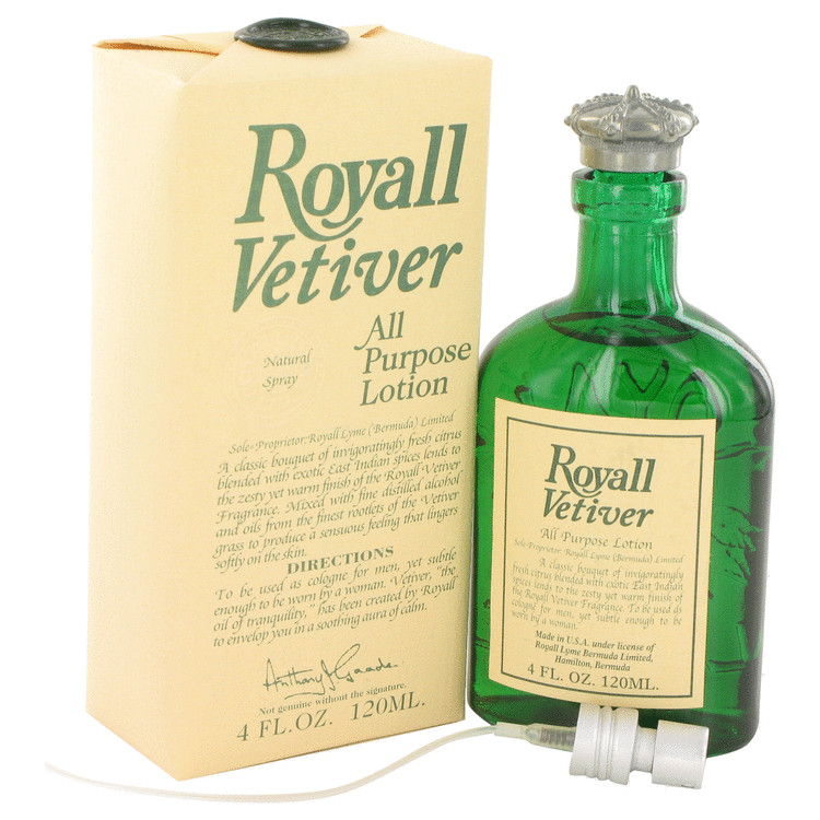 Royall Vetiver by Royall Fragrances for Men All Purpose Lotion 4 oz