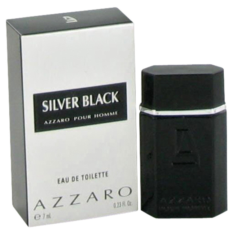 Silver Black by Azzaro for Men Mini EDT .23 oz