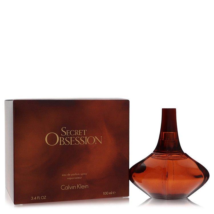 Secret Obsession by Calvin Klein for Women Eau De Parfum Spray 3.4 oz
