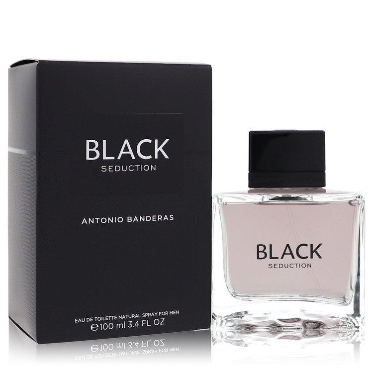 Seduction In Black by Antonio Banderas for Men Eau De Toilette Spray 3.4 oz