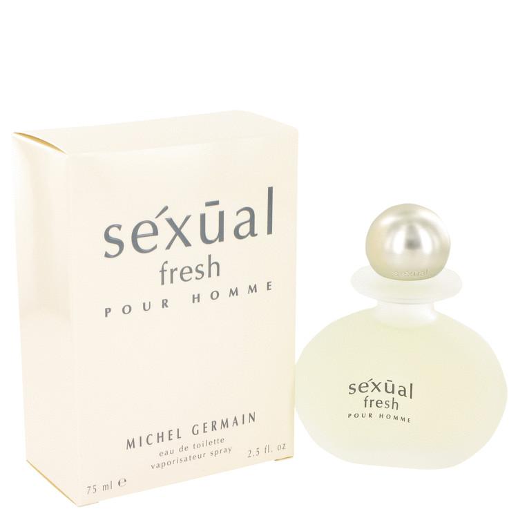 Sexual Fresh by Michel Germain for Men Eau De Toilette Spray 2.5 oz