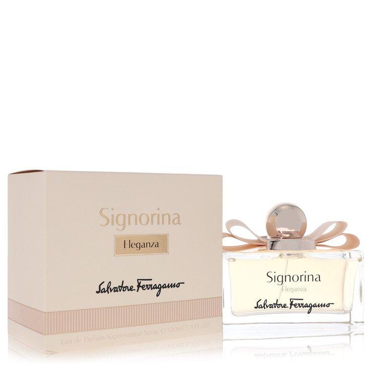 Signorina Eleganza by Salvatore Ferragamo for Women Eau De Parfum Spray 3.4 oz