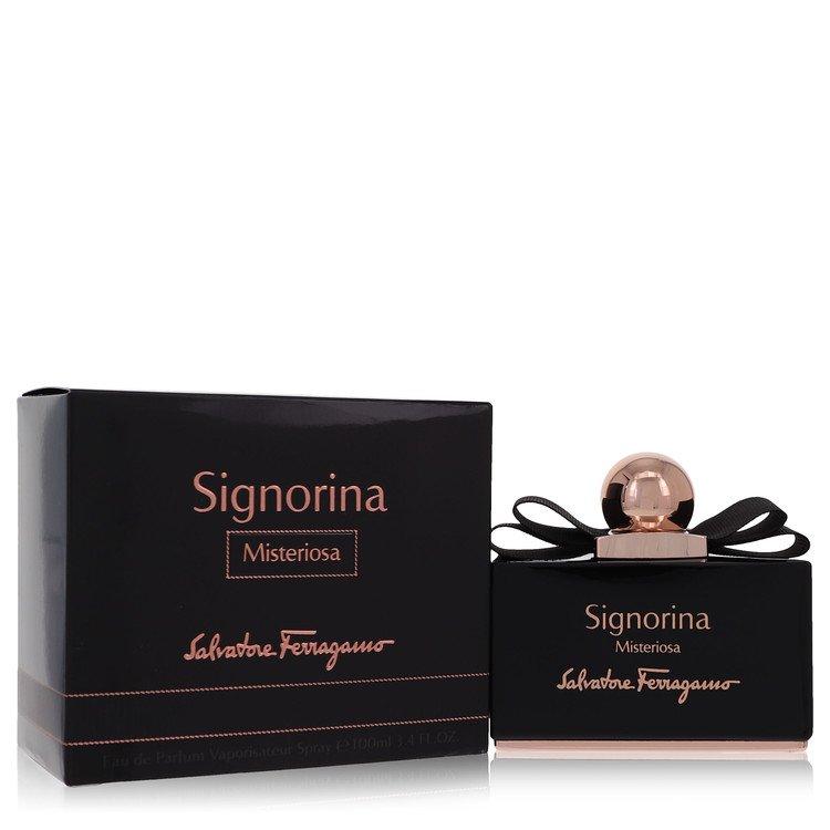 Signorina Misteriosa by Salvatore Ferragamo for Women Eau De Parfum Spray 3.4 oz