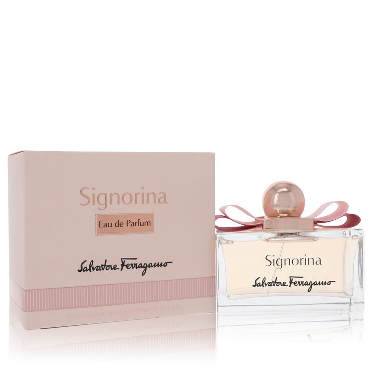 Signorina by Salvatore Ferragamo for Women Eau De Parfum Spray 3.4 oz