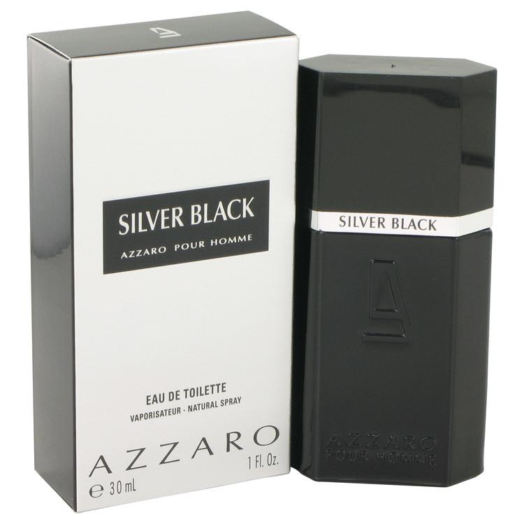 Silver Black by Loris Azzaro for Men Eau De Toilette Spray 1 oz