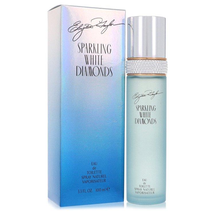 Sparkling White Diamonds by Elizabeth Taylor for Women Eau De Toilette Spray 3.3 oz