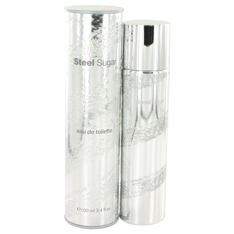 Steel Sugar by Aquolina for Men Eau De Toilette Spray 3.4 oz
