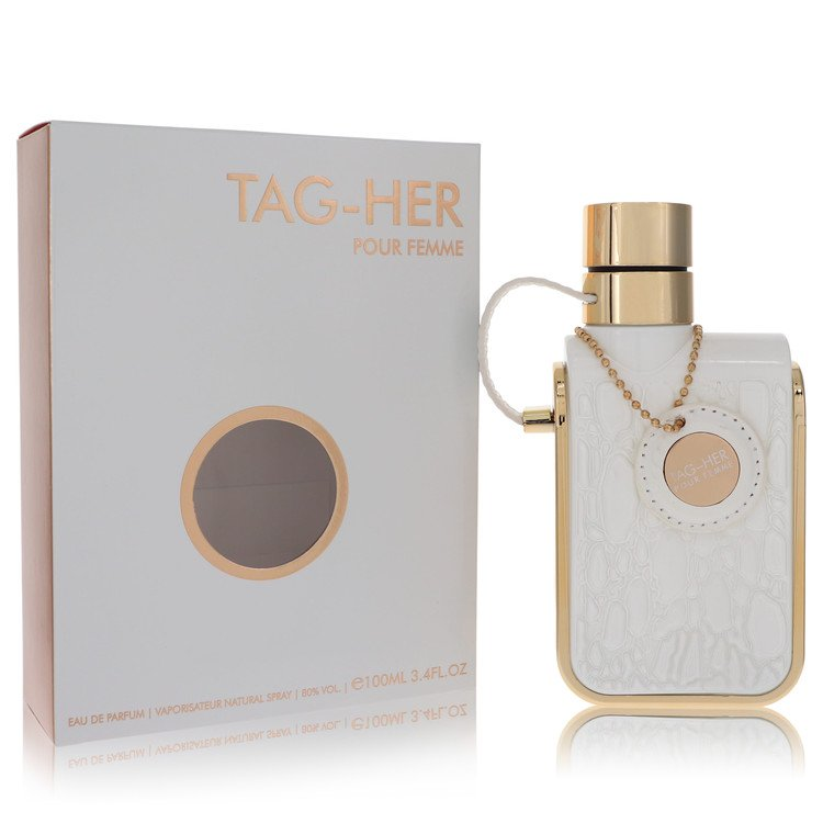 Tag Her by Armaf for Women Eau De Parfum Spray 3.4 oz