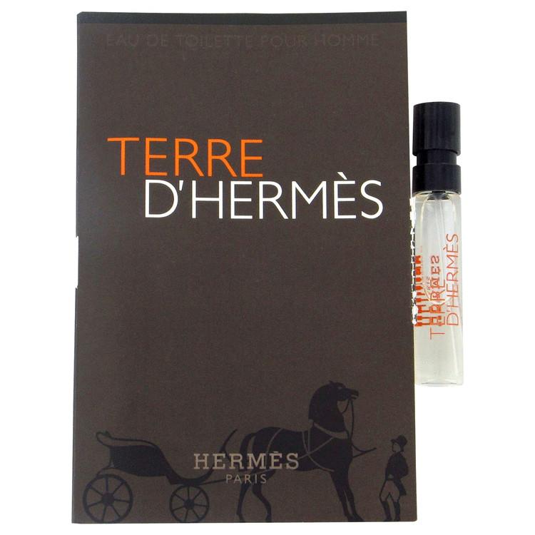 Terre D'Hermes by Hermes for Men VIal (sample)-EDT .06 oz