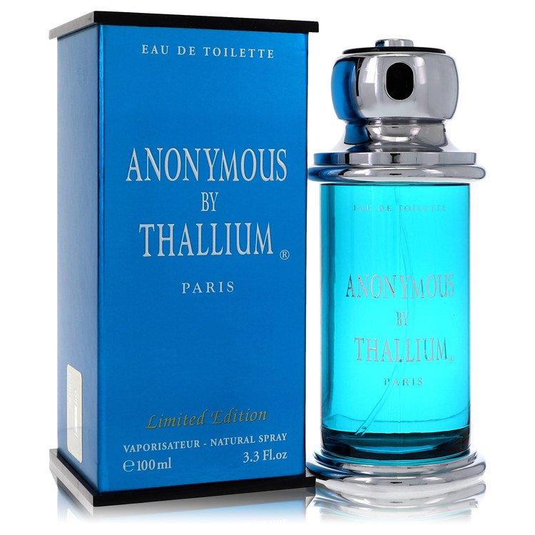 Thallium Anonymous by Yves De Sistelle for Men Eau De Toilette Spray 3.3 oz