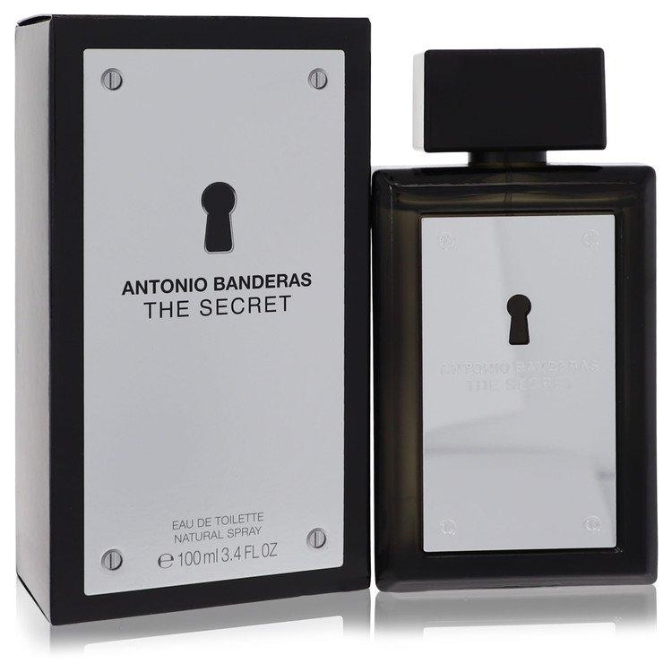 The Secret by Antonio Banderas for Men Eau De Toilette Spray 3.4 oz