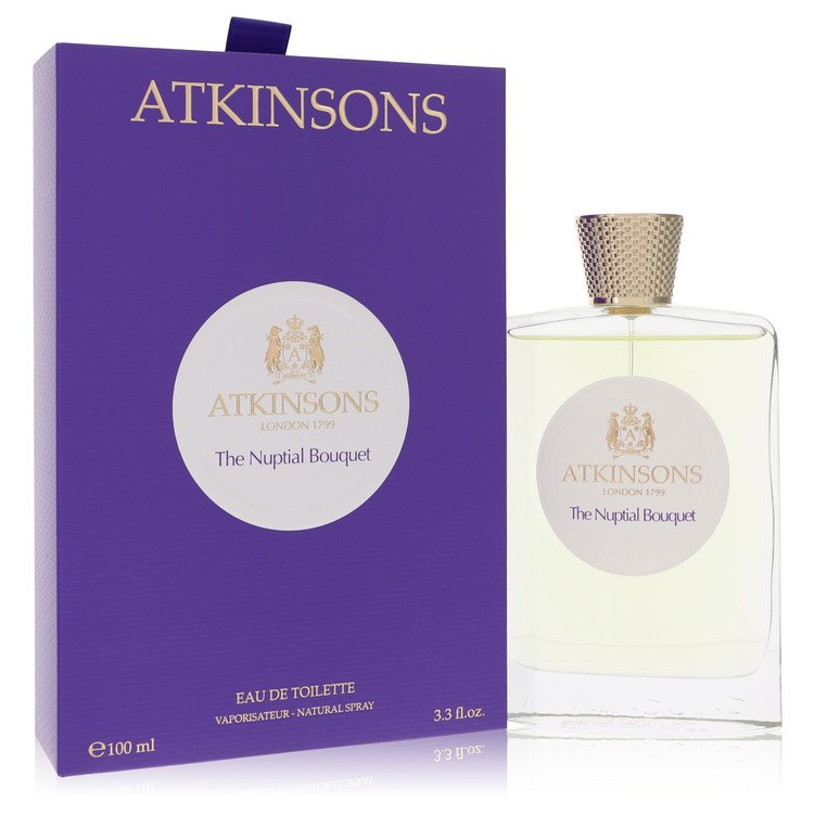The Nuptial Bouquet by Atkinsons for Women Eau De Toilette Spray 3.4 oz