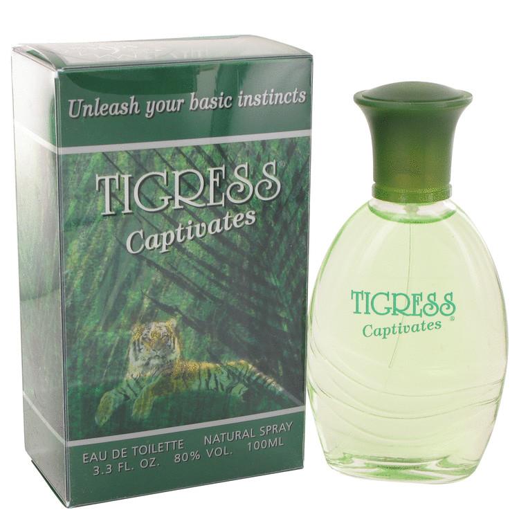 Tigress Captivates by Fragrances of France for Women Eau De Toilette Spray 3.3 oz