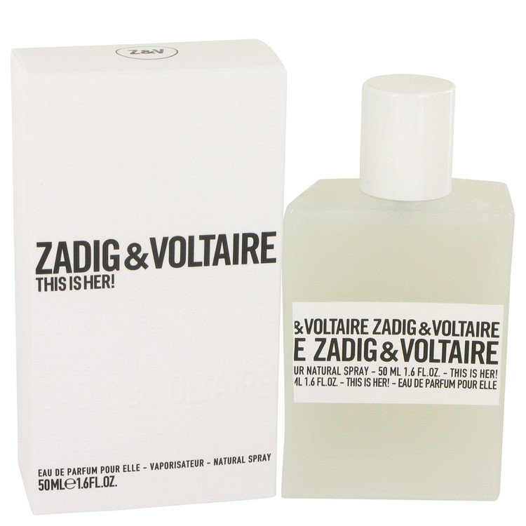 This is Her by Zadig & Voltaire for Women Eau De Parfum Spray 1.6 oz