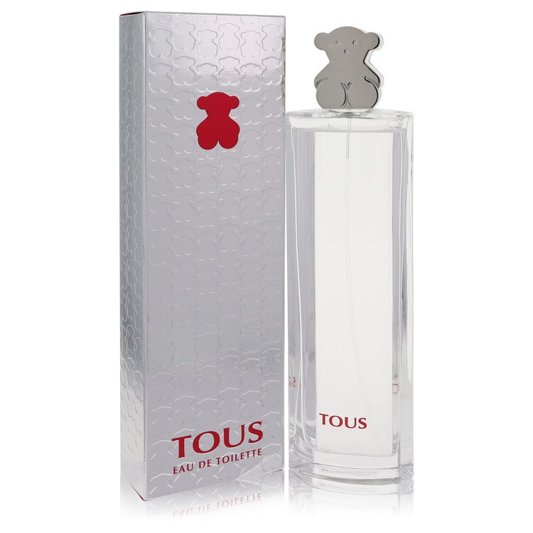 Tous Silver by Tous for Women Eau De Toilette Spray 3 oz