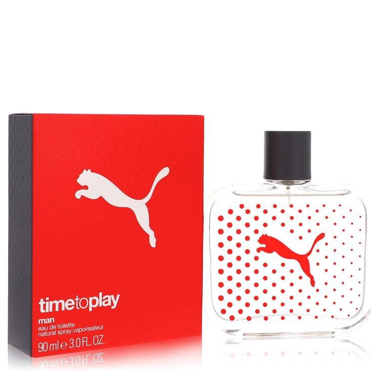 Time to Play by Puma for Men Eau De Toilette Spray 3 oz
