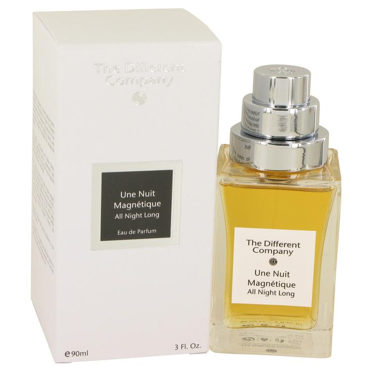 Une Nuit Magnetique by The Different Company for Women Eau De Parfum Spray 3 oz