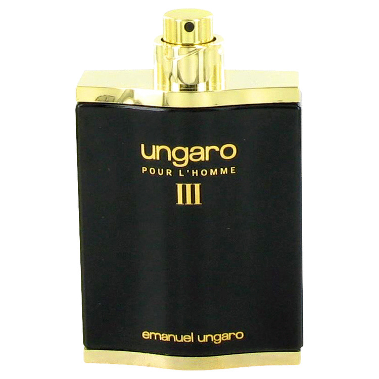 UNGARO III by Ungaro for Men Eau De Toilette Spray (Tester) 3.4 oz