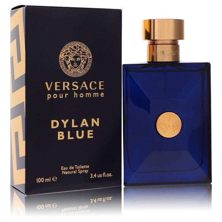 Versace Pour Homme Dylan Blue by Versace for Men Eau De Toilette Spray 3.4 oz