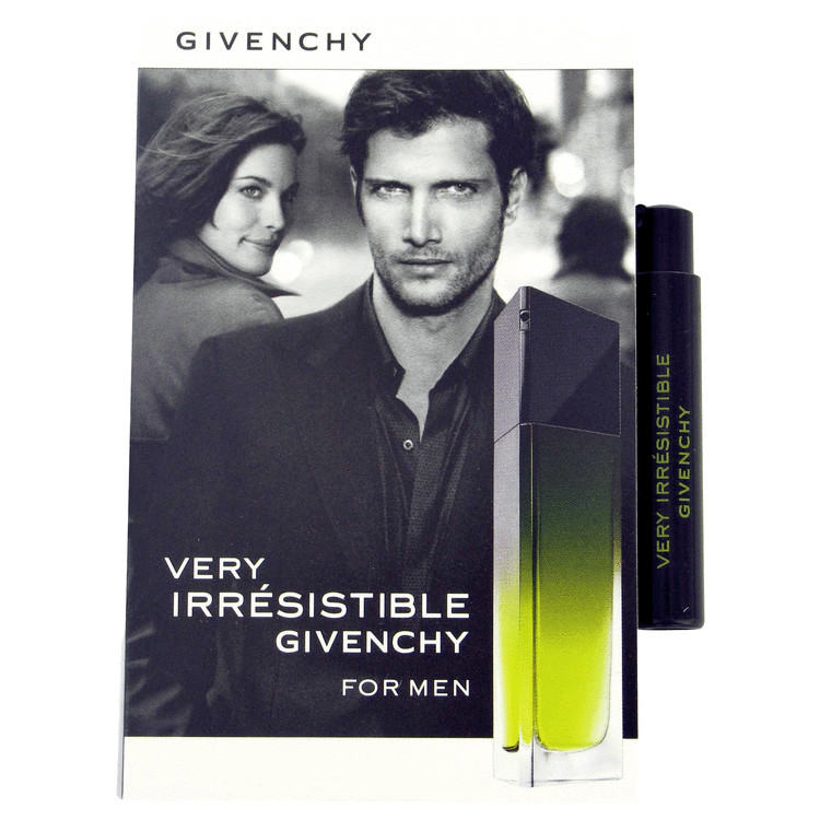 Very Irresistible by Givenchy for Men Vial (sample) .04 oz