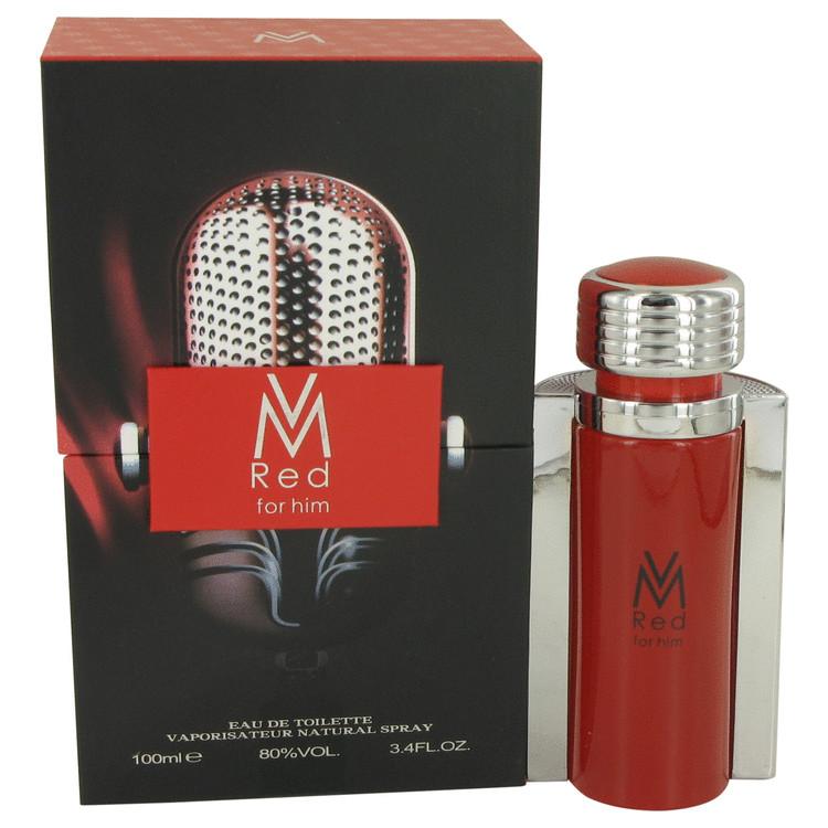 VM Red by Victor Manuelle for Men Eau De Toilette Spray 3.4 oz