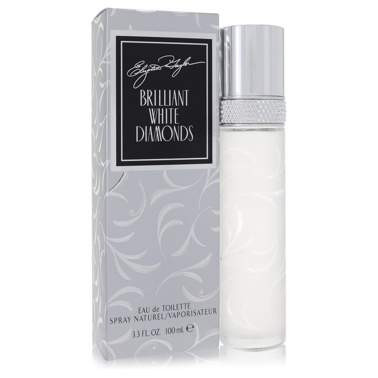 White Diamonds Brilliant by Elizabeth Taylor for Women Eau De Toilette Spray 3.3 oz