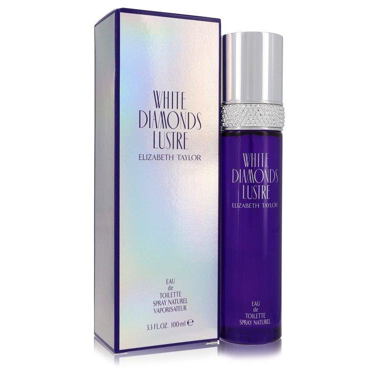 White Diamonds Lustre by Elizabeth Taylor for Women Eau De Toilette Spray 3.3 oz