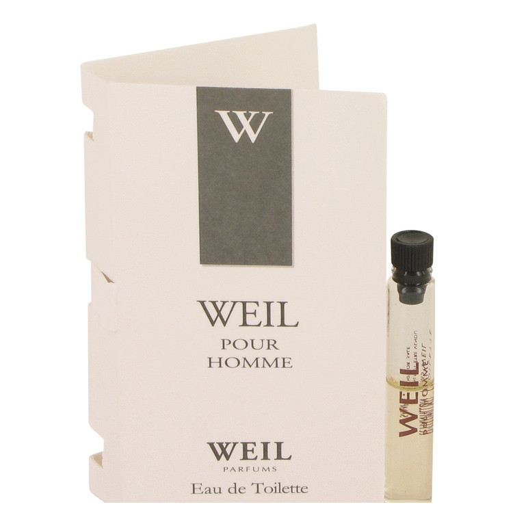 Weil Pour Homme by Weil for Men Vial (Sample) .05 oz