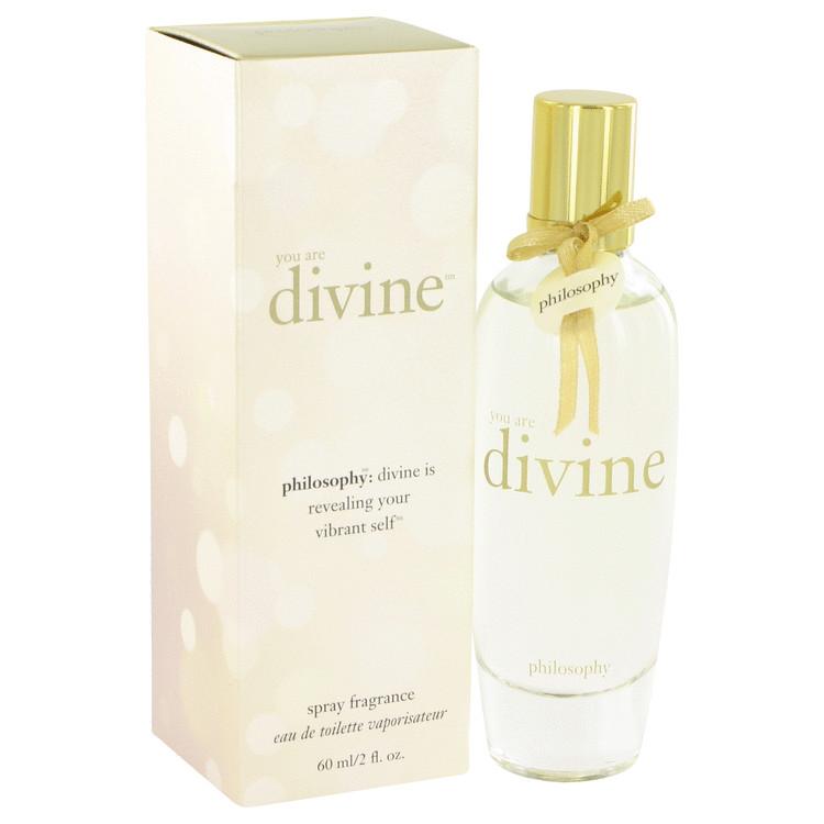 You are Divine by Philosophy for Women Eau De Toilette Spray 2 oz