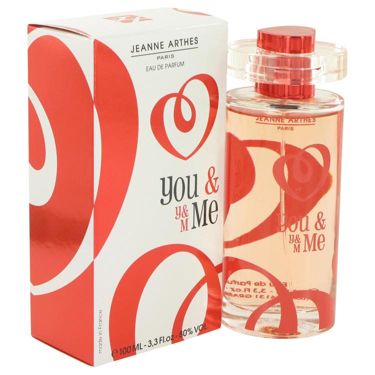 You & Me by Jeanne Arthes for Women Eau De Parfum Spray 3.3 oz