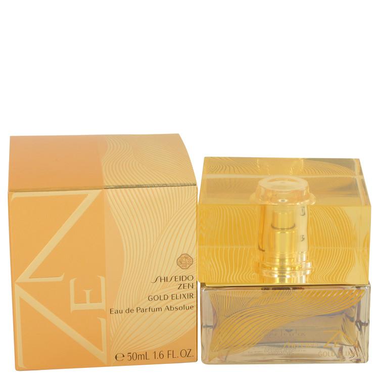 Zen Gold Elixir by Shiseido for Women Eau De Parfum Spray 1.6 oz