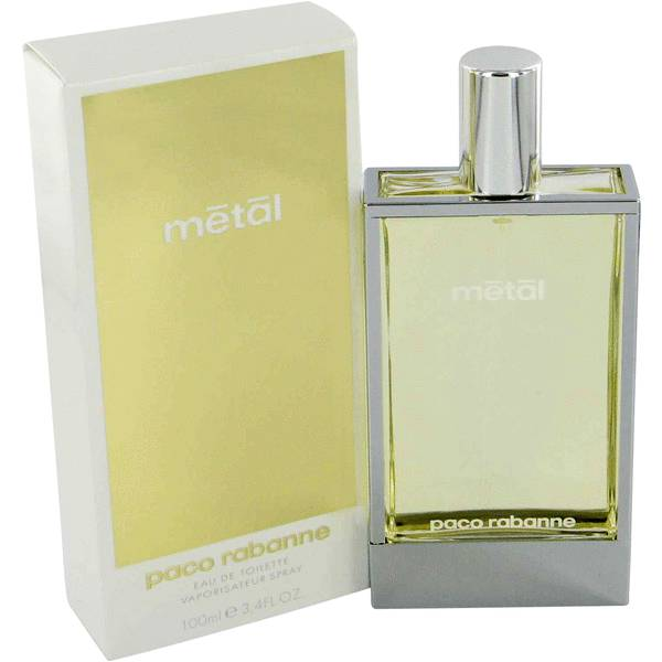 Metal perfume for women by paco rabanne for Paco rabanne women s fragrance