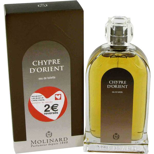 parfum de chypre d 39 orient pour des femmes par molinard. Black Bedroom Furniture Sets. Home Design Ideas