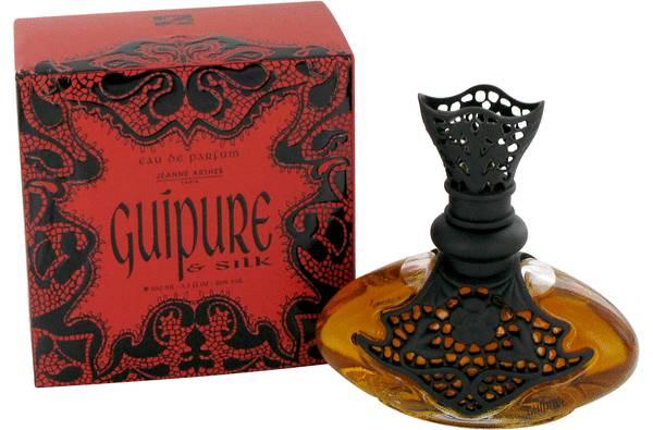 Guipure & Silk Perfume