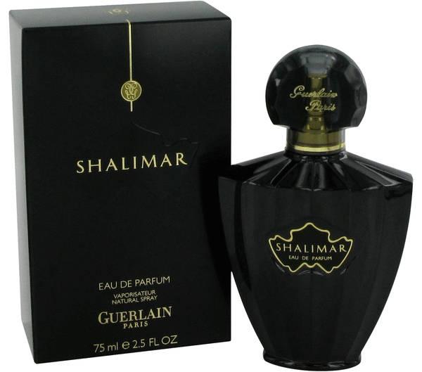 Shalimar Black Perfume