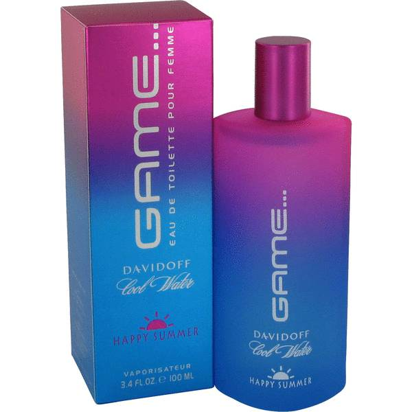 Cool Water Game Happy Summer Perfume