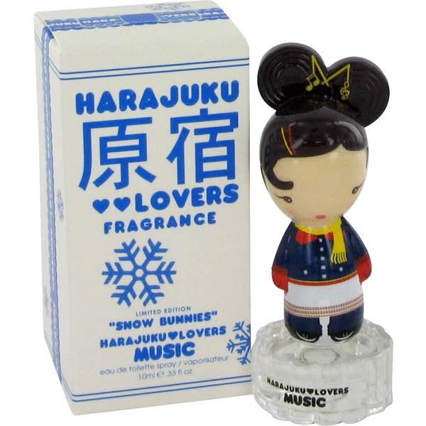 Harajuku Lovers Snow Bunnies Music Perfume For Women By