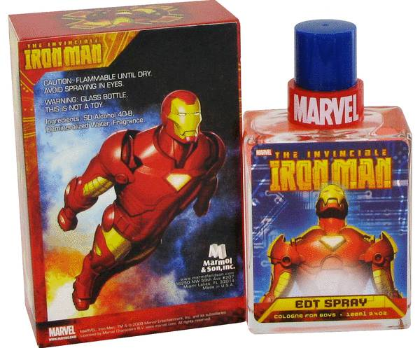 The Invincible Iron Man Cologne