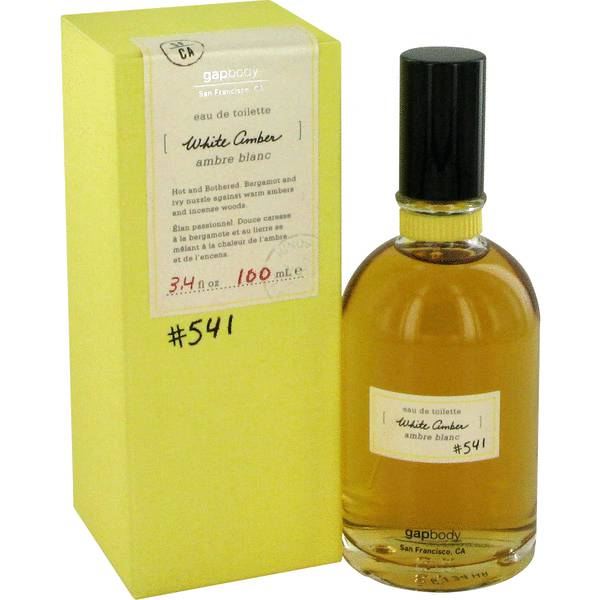 White Amber 541 Perfume