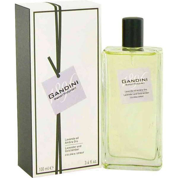 Gandini Lavender And Gold Amber Perfume