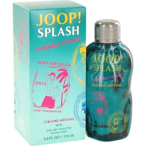 Joop Splash Summer Ticket Cologne