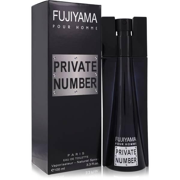 Fujiyama Private Number Cologne