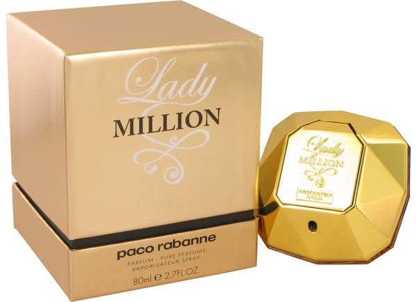 Lady Million Absolutely Gold Perfume